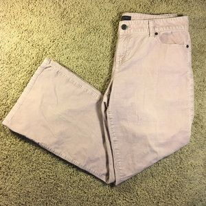 Talbots Signature Boot Cut Corduroy Pants